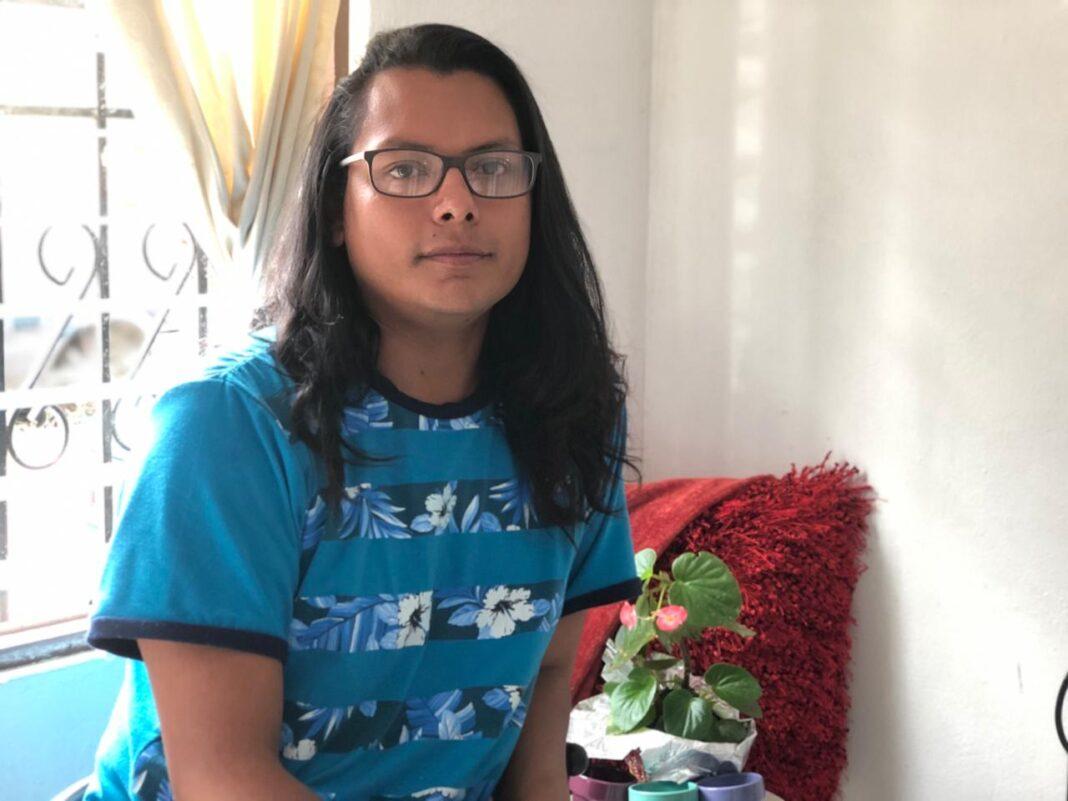Eli Narváez exiliado en Costa Rica desde julio de 2018