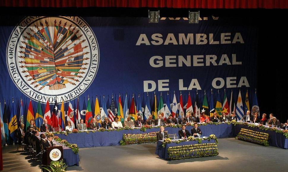 Asamblea general de la OEA NicaraguaActual