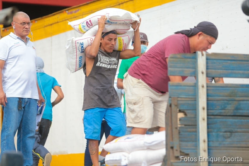 Alimentos donados por el PMA NicaraguaActual