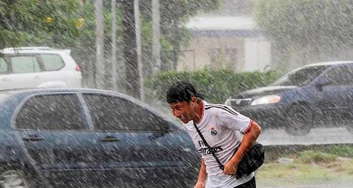 Las lluvias serán de leves a tormentas eléctricas en diversos departamento