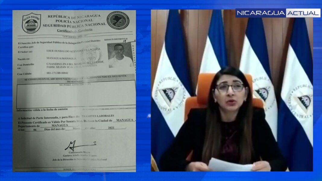 Wendy procuradora afín a Ortega inventa cargos contra defensor de la CPDH para desvirtuar su trabajo en CorteIDH
